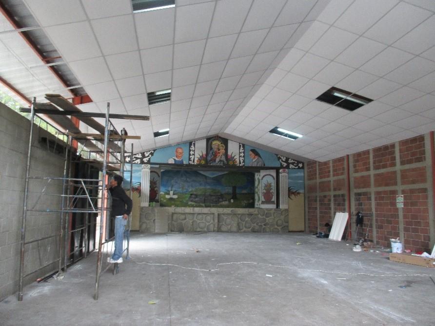 Progetto salone polifunzionale
