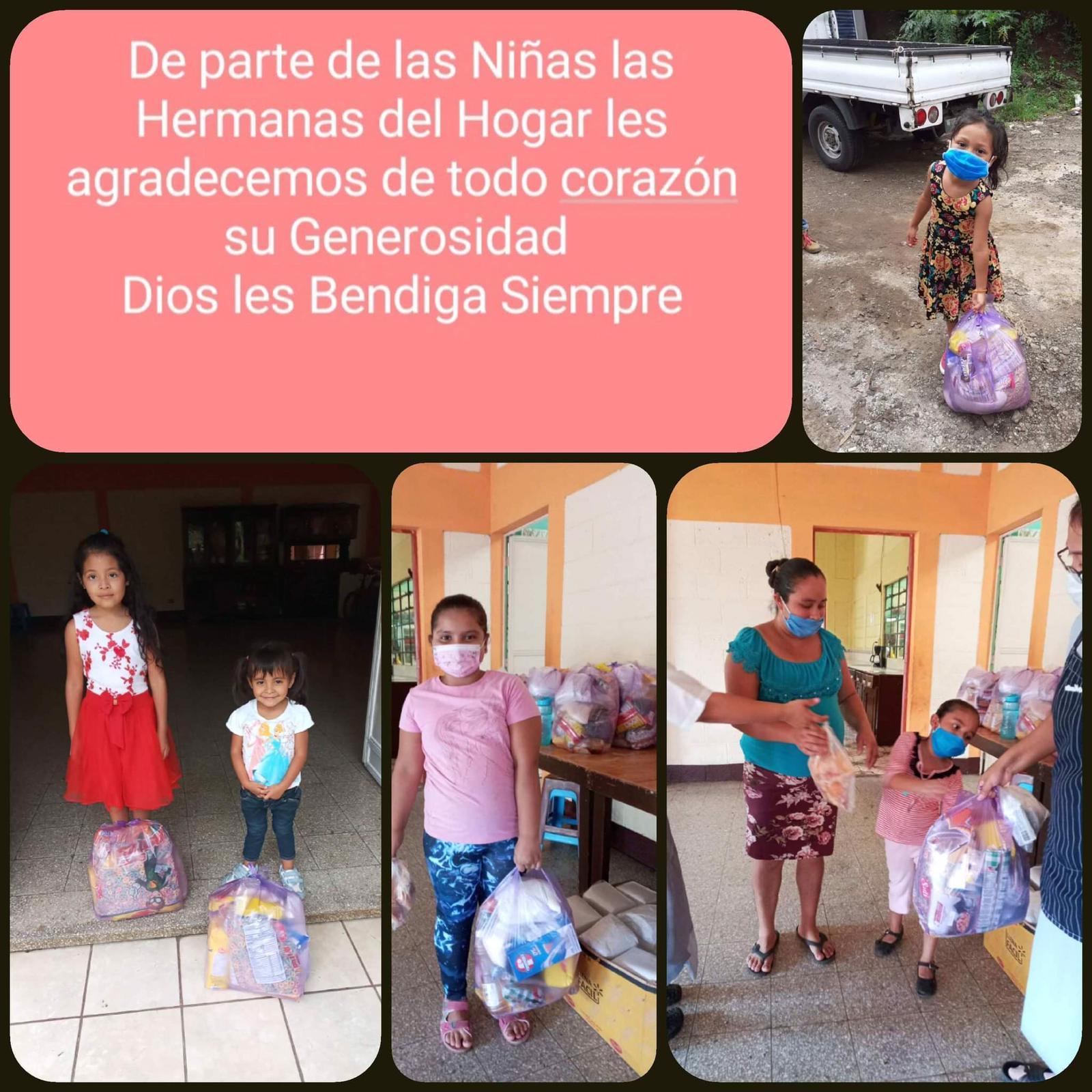 Viveri per le famiglie Cuilapa Covid 2020
